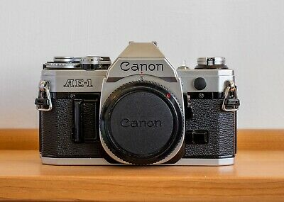 Canon AE-1 35mm SLR Film Camera Kit with FD 50 mm Lens