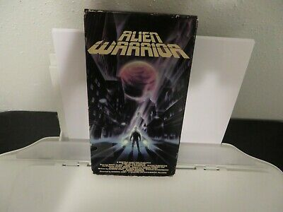 Alien Warrior VHS Brett Clark Science Fiction