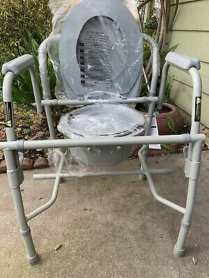 DRIVE Deluxe Steel Drop-Arm Commode BRAND NEW!!!