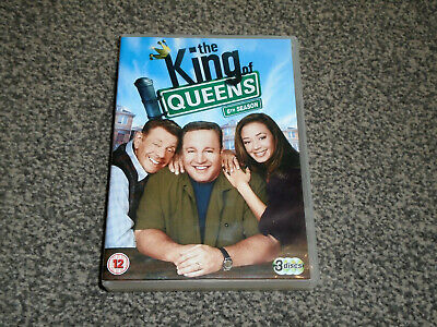THE KING OF QUEENS : SIXTH SEASON (6th) - DVD BOXSET IN VGC (FREE UK P&P)