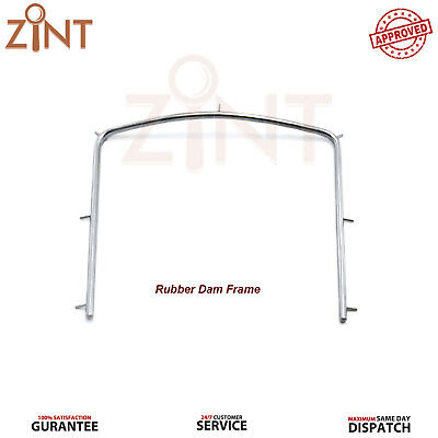 Rubber Dam Frame Medium Orthodontics Surgical Tool Autoclavable Stainless Steel