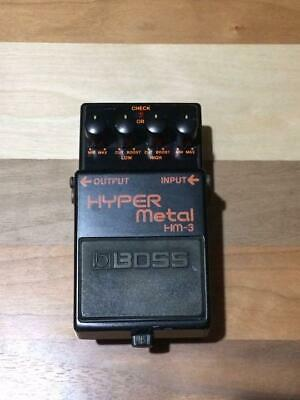BOSS HM-3 Heavy Metal Distortion Electric Guitar Effects Pedal Mint