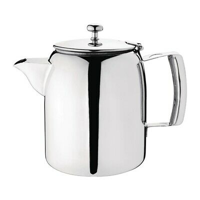 Olympia Cosmos Tea Pot Stainless Steel 1.4 Litre