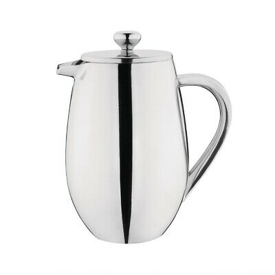 Olympia Insulated Stainless Steel Coffee Plunger 6 Cup