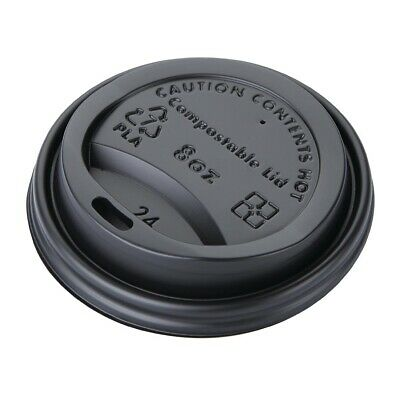 Fiesta Green Compostable Hot Cup Lids 225ml Pack of 1000