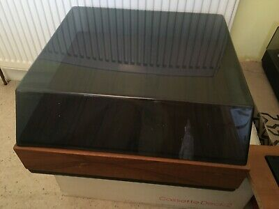 Plinth and Perpex cover for High end Turntables - Garrard, Thorens etc