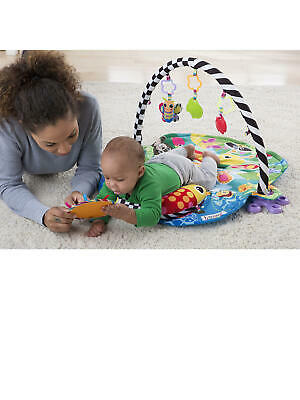 Lamaze 3 in 1 Freddie The Firefly Gym for Sit and Play Baby Floor Mat Infant