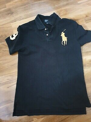 Boys Polo By Ralph Lauren Polo Shirt Size L Aged 14-16