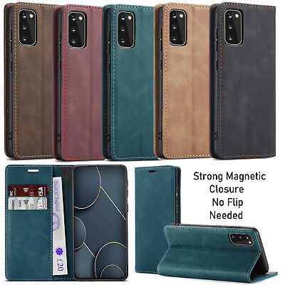 For Samsung Galaxy S20 S20+ 5G S10 Lite Case Luxury Leather Wallet Flip Cover