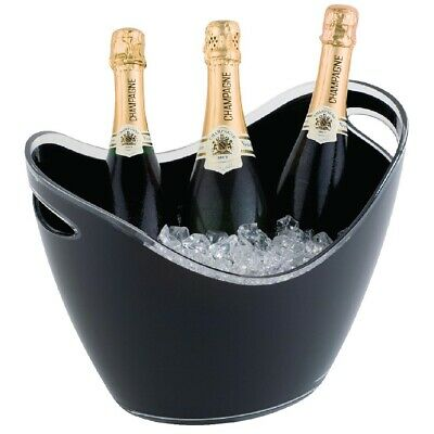 APS Black Acrylic Wine & Champagne Bucket Large