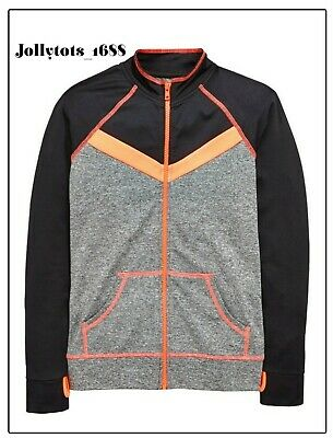 Girls V by Very Zipped Sports Running Top Ages 7-14 Years RRP £34