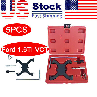 5pcs Portable Engine Camshaft Alignment Timing Tool Set for Ford 1.6Ti-VCT