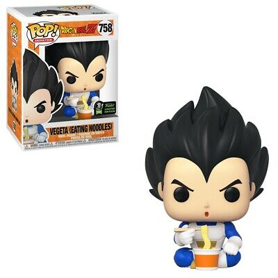 Vegeta Eating Noodles Pop! ECCC Shared Excl. Pre-Order