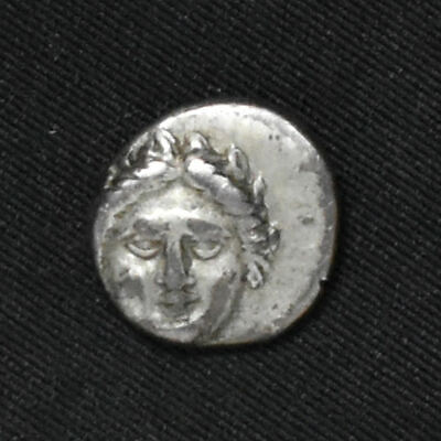 Ancient Greece, Thrace, Apollonia Pontika, 400-350 BC, AR Diobol, Sear 1657