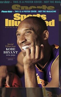 Kobe Bryant Sports Illustrated Magazine Special 2020 Tribute Issue - Brand New