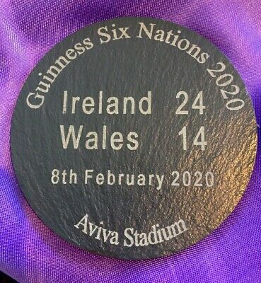 2020 Guinness Six Nations Rugby Ireland vs Wales