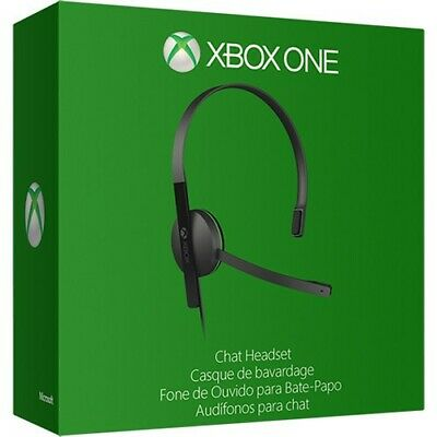 Microsoft Xbox One Chat Headset - Black grade A all tested in original box