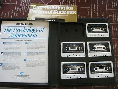The Psychology of Achievement by Brian S. Tracy (Cassette)
