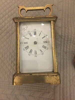 Vintage Brass Carriage Clock Spares Repairs Parts