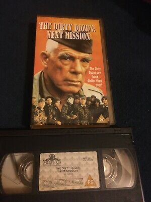 The Dirty Dozen Next Mission Vhs