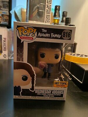 The Addams Family Wednesday Addams Hot Topic Exclusive Funko Pop