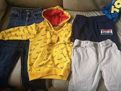 Boys Clothes Bundle 2-3 Years Inc.trousers