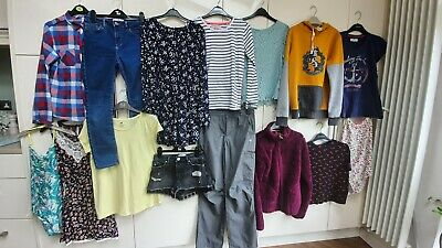 Large bundle girls clothes age 13-14 yrs zara ,new look, next,superdry 20 items