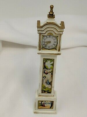 Vtg IDEAL Petite Princess Mini Dollhouse Fantasy Furniture Grandfather Clock