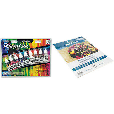 Pinata Alcohol Ink Overtones Exciter Pack & SAA Yupo Wet Media Paper 25xA4sheets