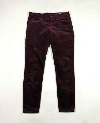 Gap 1969 Legging Jean Womens Size 30 Rubywine Lightweight Corduroy Pants