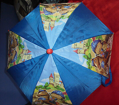 Childrens Mike the Knight Safety Umbrella.