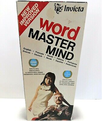 Word Master Mind Game No 3071 Vintage 1975 Invicta Complete Made In England