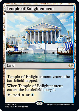 Temple of Enlightenment (246) Theros Beyond Death Mtg x1 1x THB Magic