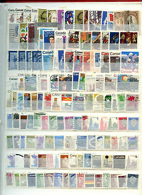 Canada Stockpage Full Of Stamps #W671