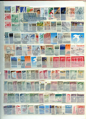 Canada Stockpage Full Of Stamps #W672