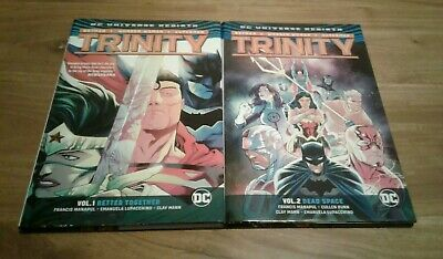 DC Trinity Rebirth Hardcover Lot of Two