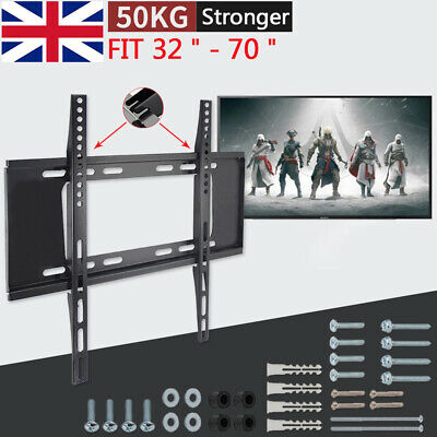"32""-70"" inch Smart LCD LED TV Wall Bracket Mount Slim for JVC LG Samsung SKY+ UK"