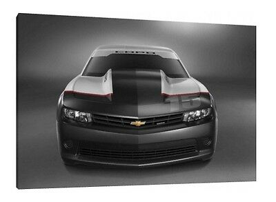 Chevrolet Camaro - 30x20 Inch Canvas - Framed Picture Print