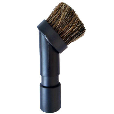 Round Dusting Brush Tools For Karcher Vacuum Cleaner 32-35mm Spare Parts Durable