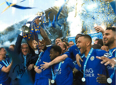 Claudio Ranieri Leicester City 16x12 inch signed authentic football photo SS244E