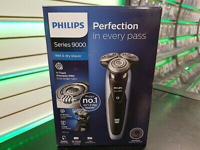 Philips Series 9000 Wet & Dry Mens Electric Shaver + Precision Trimmer, S9211/12