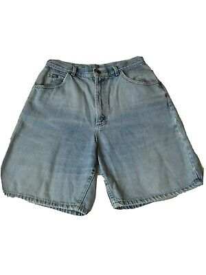 Women's VINTAGE LEE Denim High Rise Mom Shorts 80s Era, Sz 14 Medium, 28 Waist