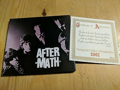 Unplayed Cd 2002 The Rolling Stones Aftermath Abkco