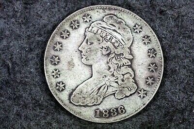Estate Find 1836 - Capped Bust Half Dollar!! #J08836