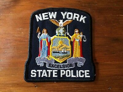 United States NEW YORK State Police patch Excelsior