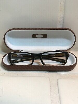 Oakley Shifter 4.0 Tortoise Rootbeer Rx Eyeglasses Frames 53[]18-130 with Case