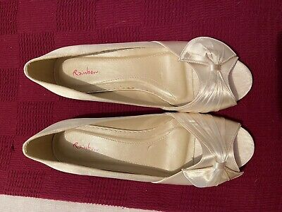 Wedding Shoes Ivory Bnwb Size 6