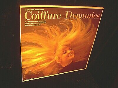 Norbert Caillaud LP Norbert 52967 Coiffure Dynamics 1967 Hair Styling Teaching