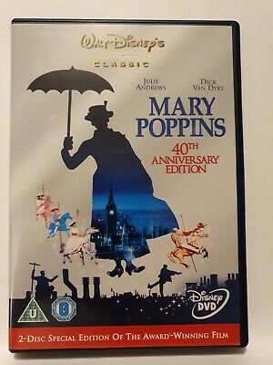 Mary Poppins (DVD, 40th AnniversaryEdition) Disney