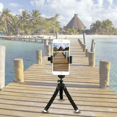 Universal Smart Phone Clip Mount Bracket Adapter Holder For Tripod Stand NEW